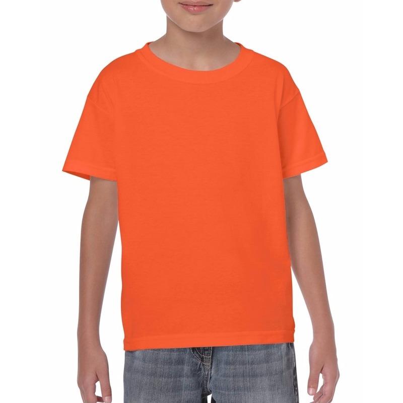 Oranje t-shirts voor kinderen
