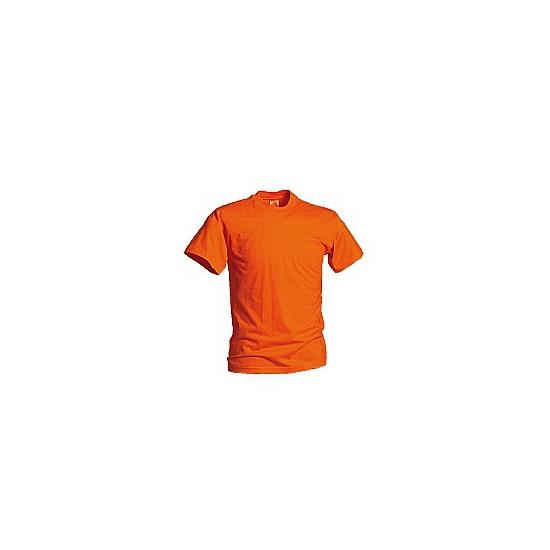 Grote maat t shirts oranje