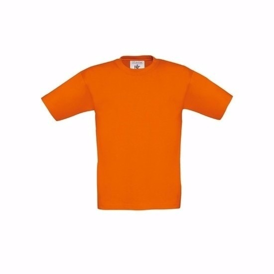 Kleding kinder t shirt oranje