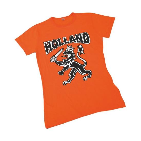 Nederland supporters t shirt voor dames