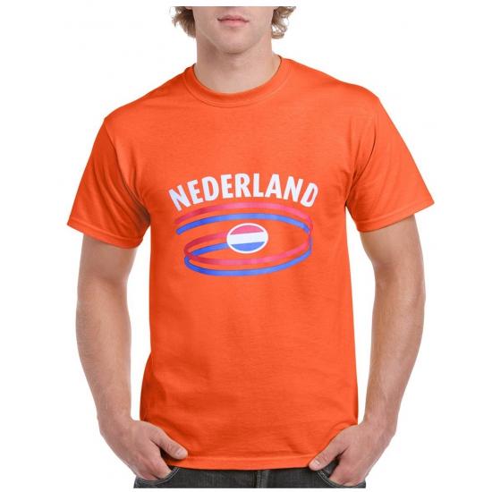 Koningsdag oranje nederland vlag t shirts