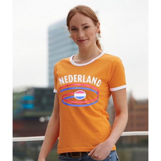 Dames shirtje met de nederlandse vlag