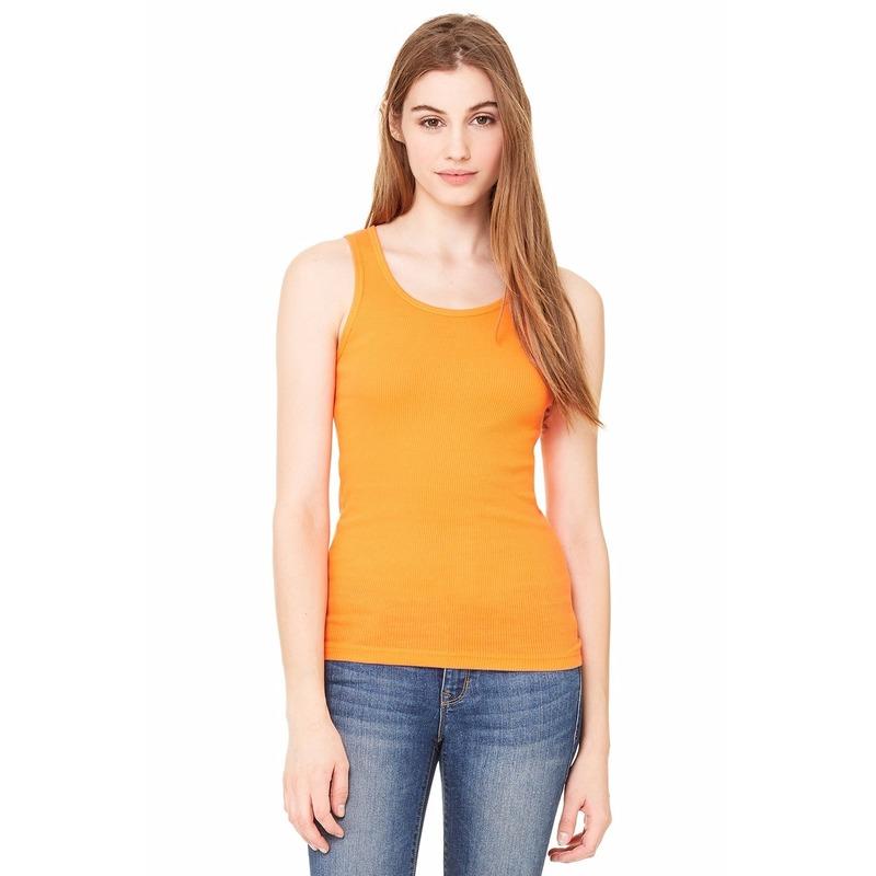 Voordelige dames topjes bella oranje